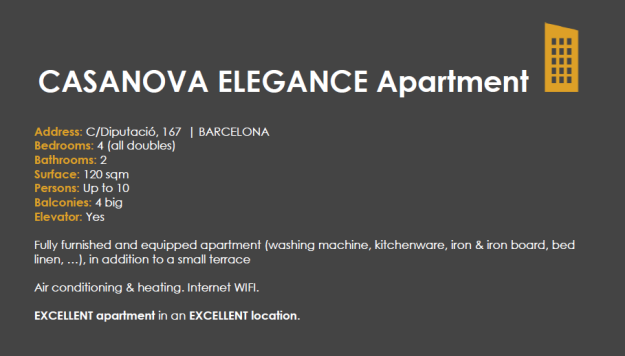 casanova elegance apartment