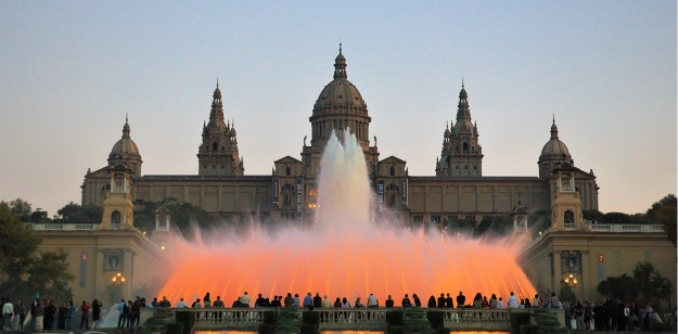 fountain montjuic