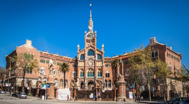 SANT PAU HOSPITAL REOPENS