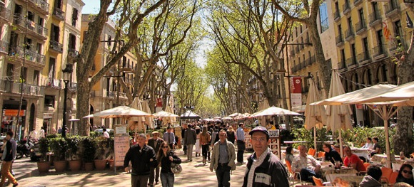 las ramblas rambla catalunya best shopping places spots in barcelona mall malls center top shop shops2