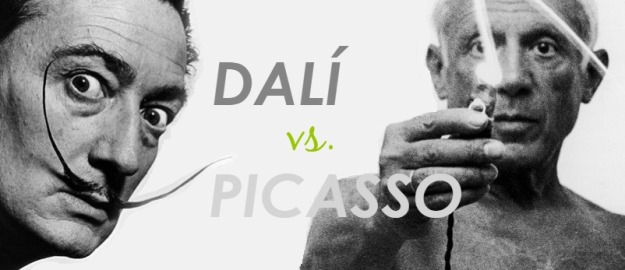 salvador-DALI-versus-pablo-picasso-exhibition-museum-barcelona-march-june-2015