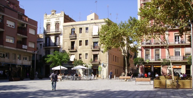 gracia-district-plaça-del-diamant-barcelona
