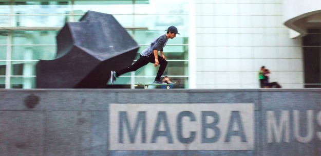 best top places spots for skate skating skateboarding in barcelona macba