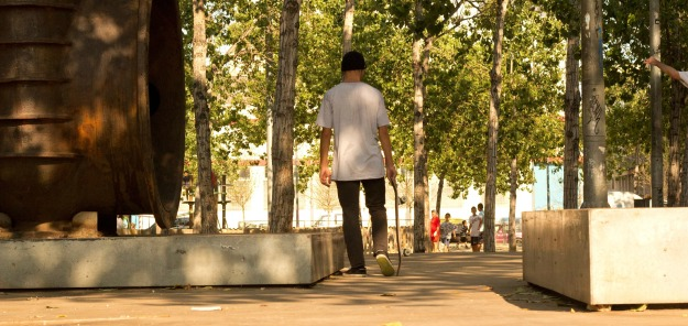 best top places spots for skate skating skateboarding in barcelona paralel tres xemeneies parc de les